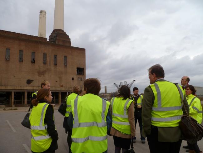 Site visit – Vauxhall Nine Elms Battersea