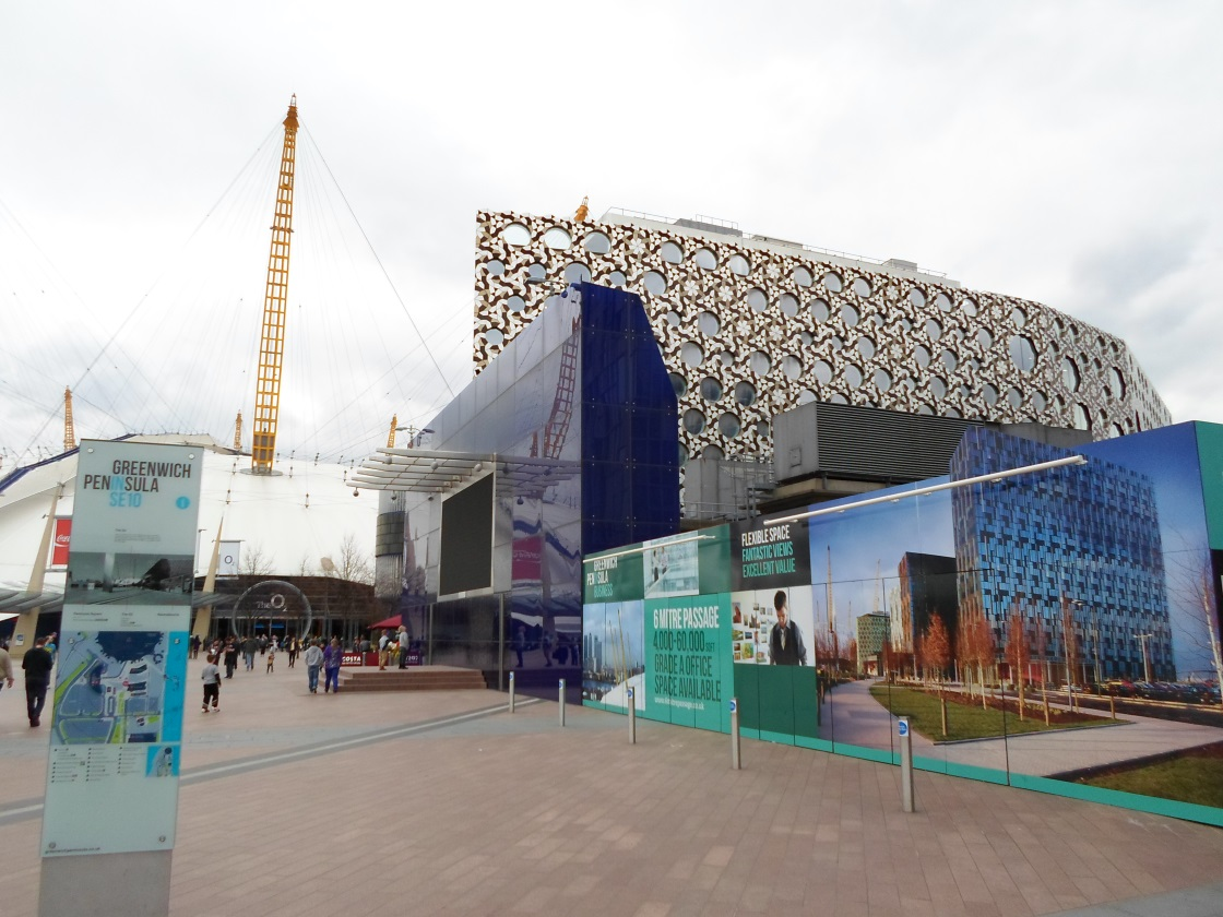 Beyond the O2 Effect – Greenwich Peninsula Site Visit