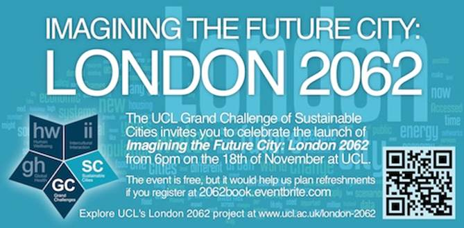 London 2062 book launch