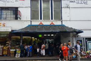 peckham rye station retail arcade